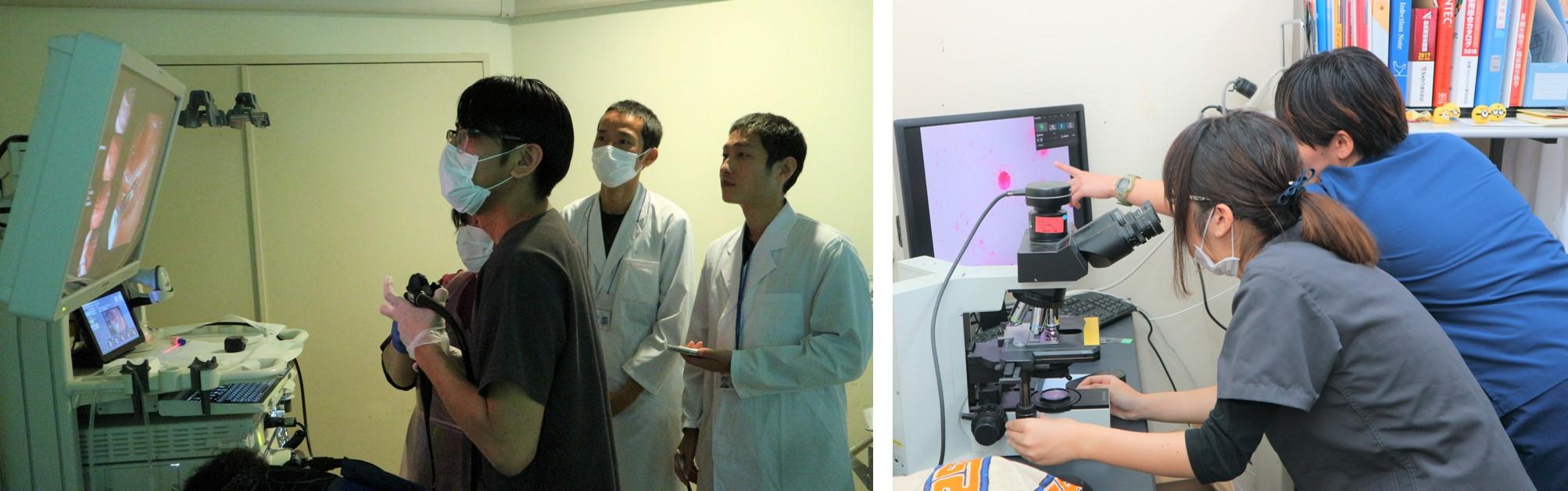 琉球大学医学生実習2