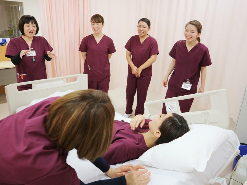新人看護師研修の様子