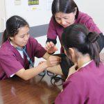血圧測定体験